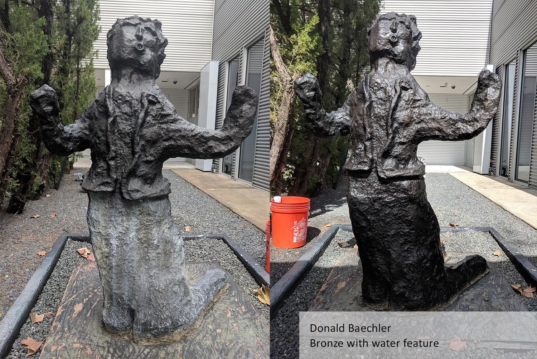 Kneeling Figure by Donald Baechler